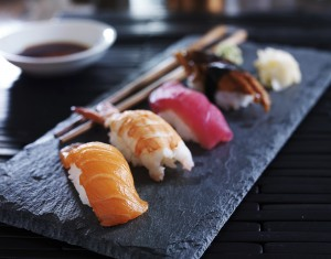 serviced apartments in london, where to eat in london, sushi london, healthy lunch london