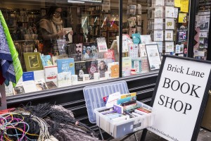 The popular Brick lane bookshop, an independent retailer in Shoreditch.